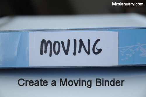 Moving Binder