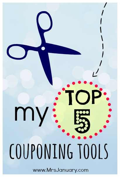 Must Have Couponing Tools