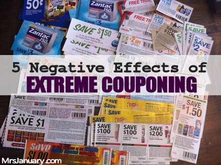 Negative Extreme Couponing