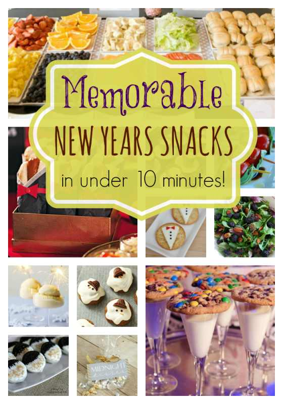 New Years Snack Ideas