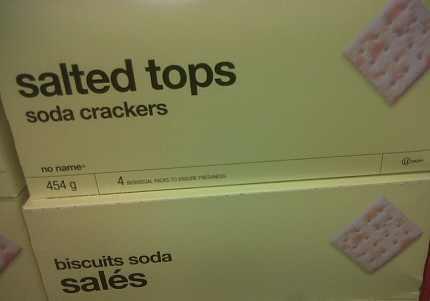 No Name Crackers