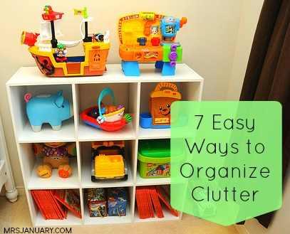 Organize Clutter