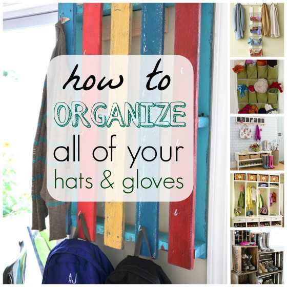 Organize Hats and Gloves