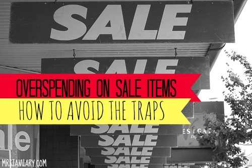 Overspending on Sale Items