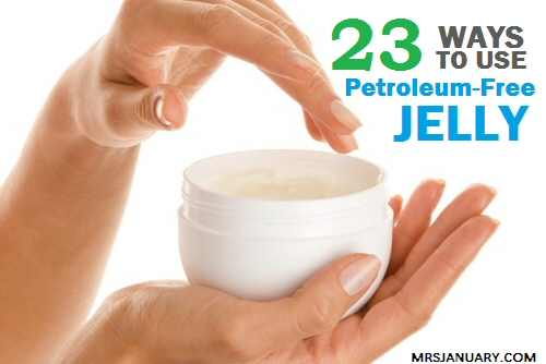 Petrolum Free Jelly Uses