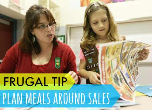 Plan Meals Around Sales