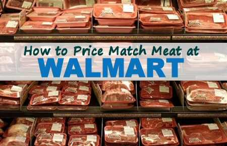 Price Match Meat at Walmart