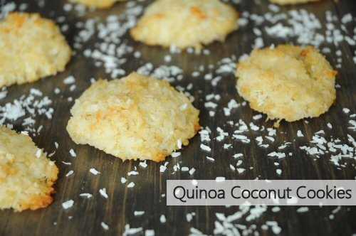 Quinoa Coconut Cookies