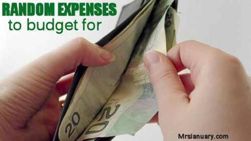 Random Expenses