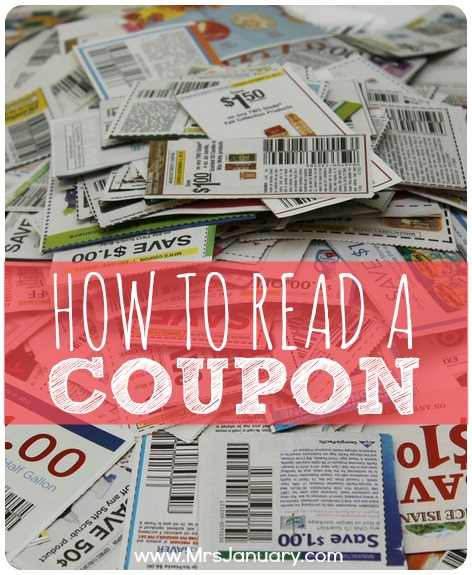 Read a Coupon
