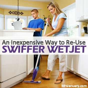 Refill Swiffer WetJet