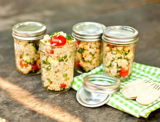 Salad in a Jar {recipe}