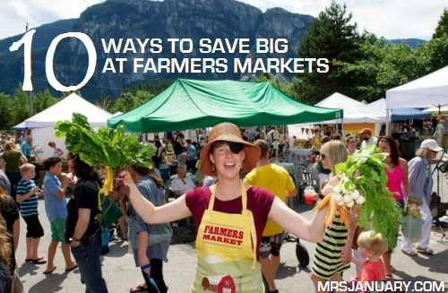 Save Money at Farmers Markets