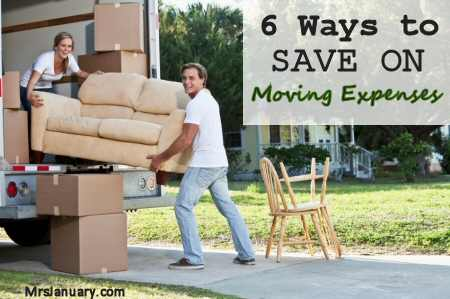 Save Money on Moving Expenses