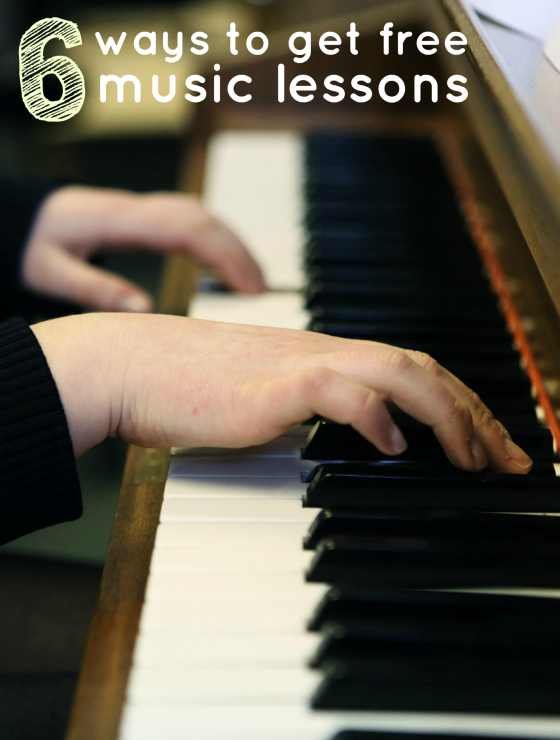 Save Money on Music Lessons