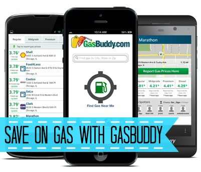 Save on Gas with GasBuddy