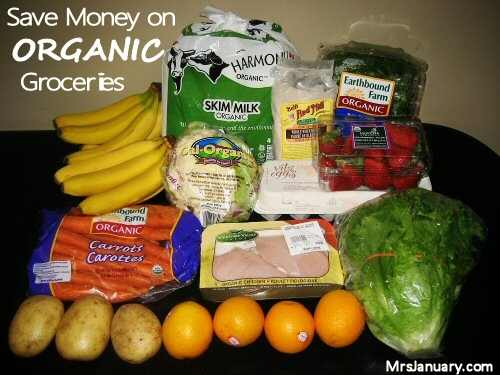 Save on Organic Groceries