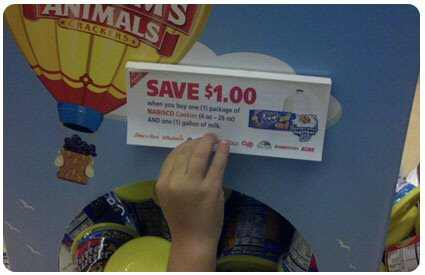 Stealing Tear Pad Coupons