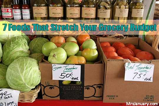 Stretch Your Grocery Budget