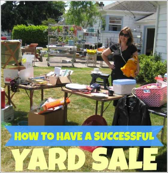 Successful Yard Sale