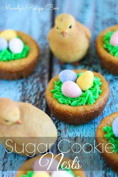 Sugar Cookie Nests