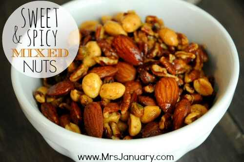 Sweet Spicy Mixed Nuts
