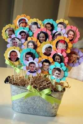 Teacher Photo Bouquet Gift