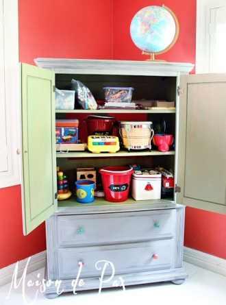Toy Storage Cabinet