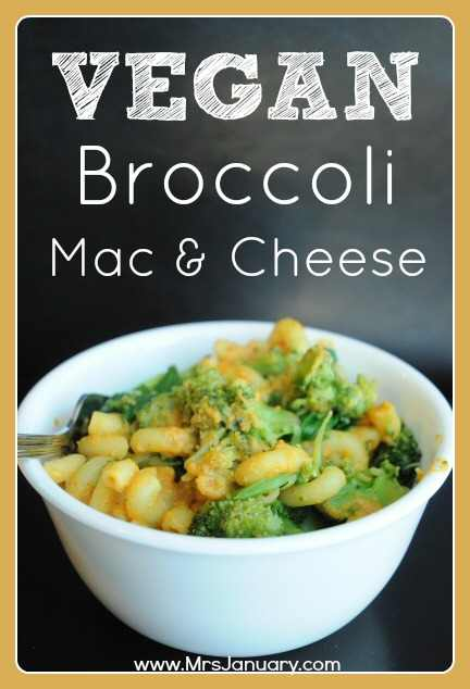 Vegan Broccoli Mac and Cheese
