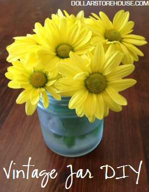 Vintage Jar DIY {craft}