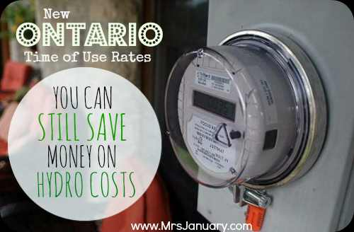 Ways to Save Money on Hydro Costs