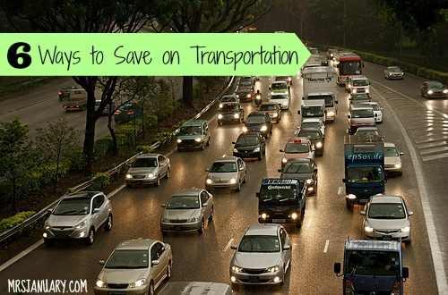 Ways to Save Money on Transportation