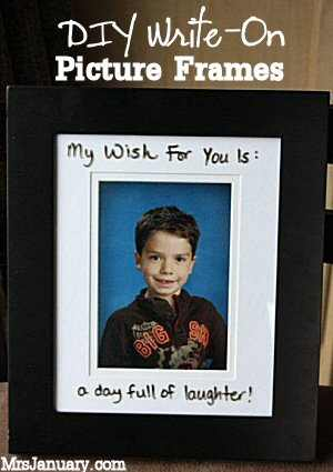 Write On Picture Frames