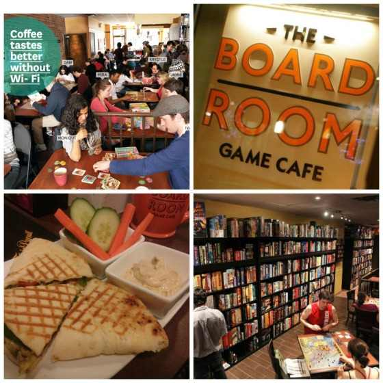 board room collage