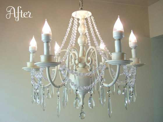 chandelier after