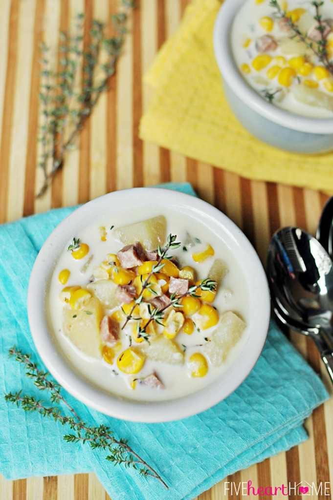 corn potato chowder