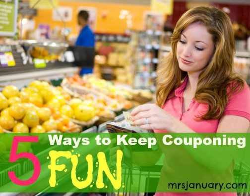 couponing fun image