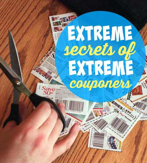 Extreme Couponing Secrets