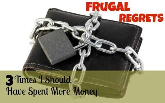 frugal regret image