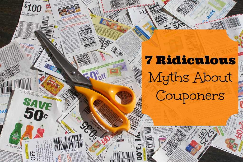 myths about couponers