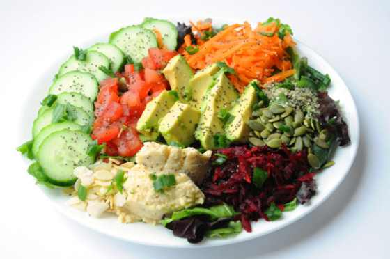 salad plate pic