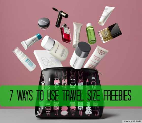 travel size freebies