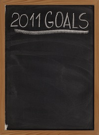 Setting Goals for 2011