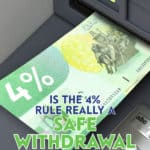 The 4% rule is used to determine how much a retiree can safely withdraw from their retirement portfolio every year without fear of running out of money.
