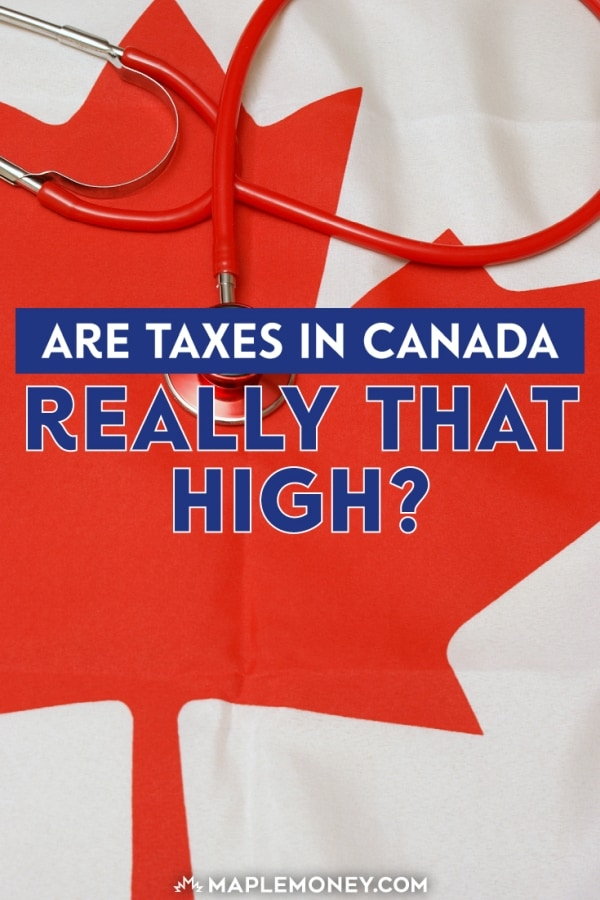 Taxes in Canada have been reported as increasing faster than other expenditures, but tax rates may actually be decreasing.