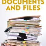 Backup your important documents, photos, and files by scanning your paper copies and backing up your digital information to a USB drive or online service.
