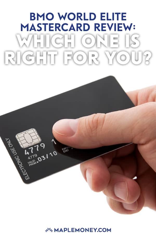 BMO Dunia Elite MasterCard penawaran, Cashback MasterCard Dunia Elite dan Air Miles Dunia Elite MasterCard, yang semua picks besar. Baca terus untuk penilaian kami BMO Dunia Elite MasterCard dan perbandingan dari tiga pilihan tersebut.