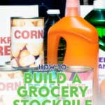 If you're thinking about starting a grocery stockpile to save money, here are some helpful tips on how to efficiently build your grocery stockpile.