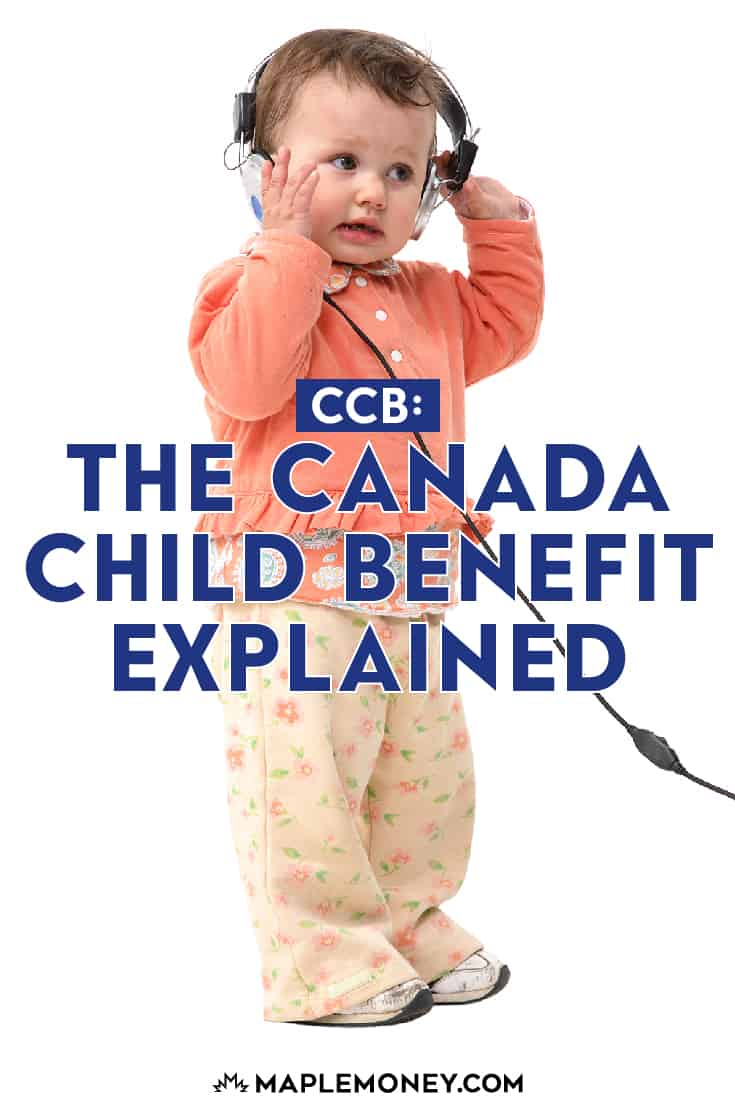 The federal government provides eligible families with a monthly tax-free payment called the Canada Child Benefit, or CCB. The funds can be used in any number of ways, at the parent's discretion. The government reports that on average, CCB-eligible families receive approximately $6800 per year in benefits.