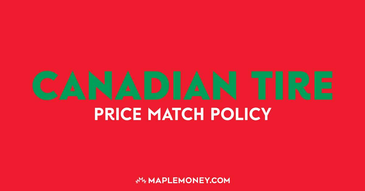 Here is the price match policy for Canadian Tire for more effective price matching that will help you to generate more savings!